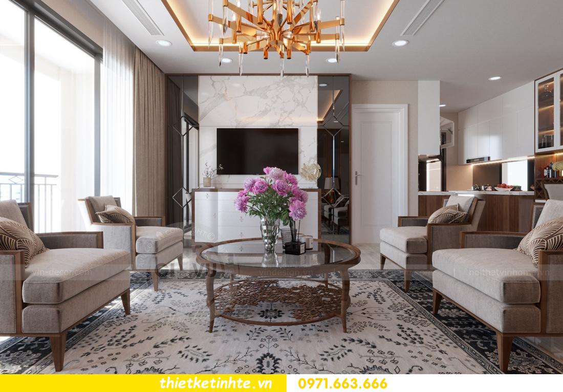 thiết kế nội thất chung cư D Capitale tòa C3 căn 10 nhà chị hằng 06