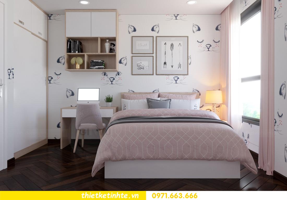 thiết kế nội thất chung cư D Capitale tòa C3 căn 10 nhà chị hằng 10