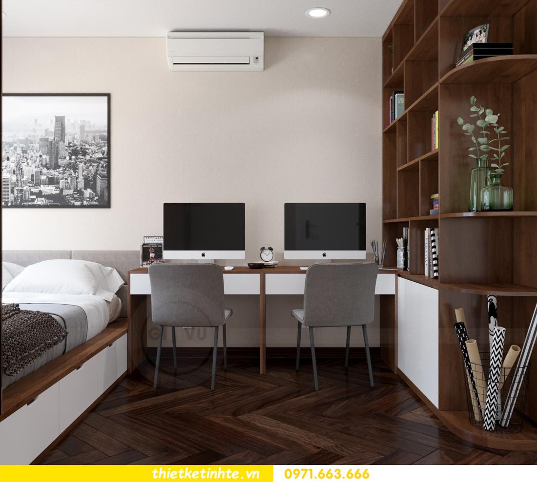 thiết kế nội thất chung cư D Capitale tòa C3 căn 10 nhà chị hằng 12