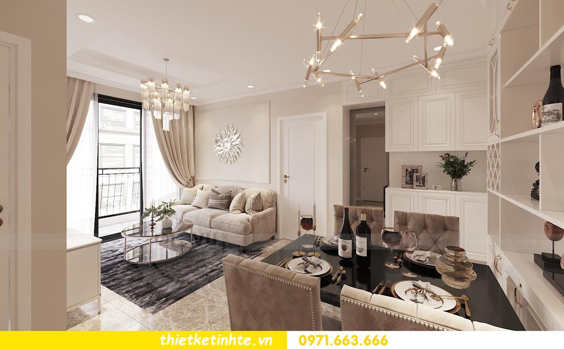 thiết kế nội thất chung cư DCapitale 2 phòng ngủ C3-02 chị Phương 01