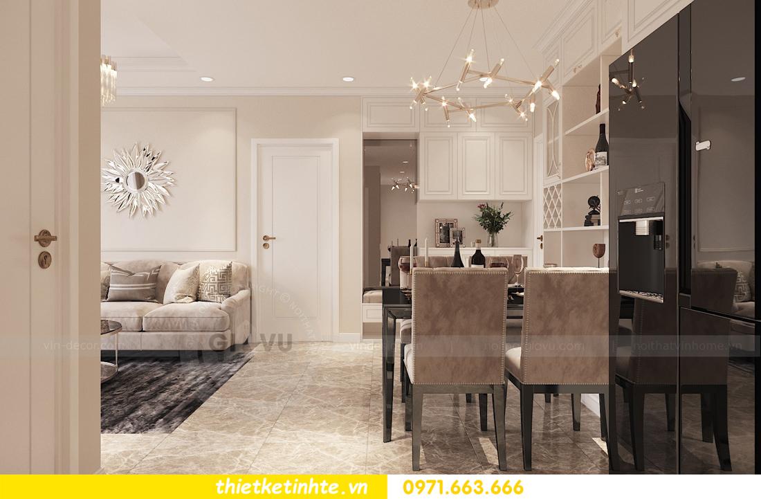 thiết kế nội thất chung cư DCapitale 2 phòng ngủ C3-02 chị Phương 02