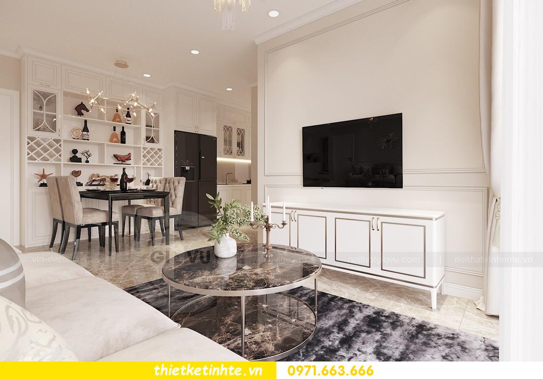 thiết kế nội thất chung cư DCapitale 2 phòng ngủ C3-02 chị Phương 03