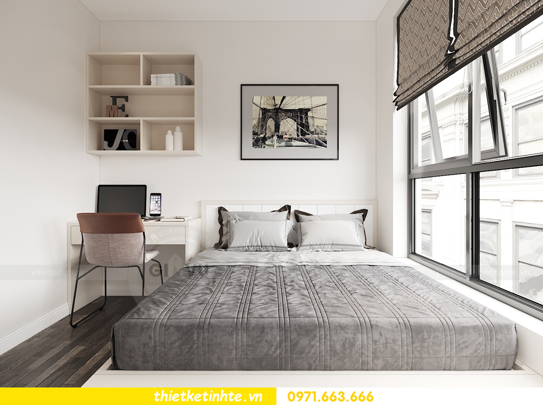thiết kế nội thất chung cư DCapitale 2 phòng ngủ C3-02 chị Phương 08
