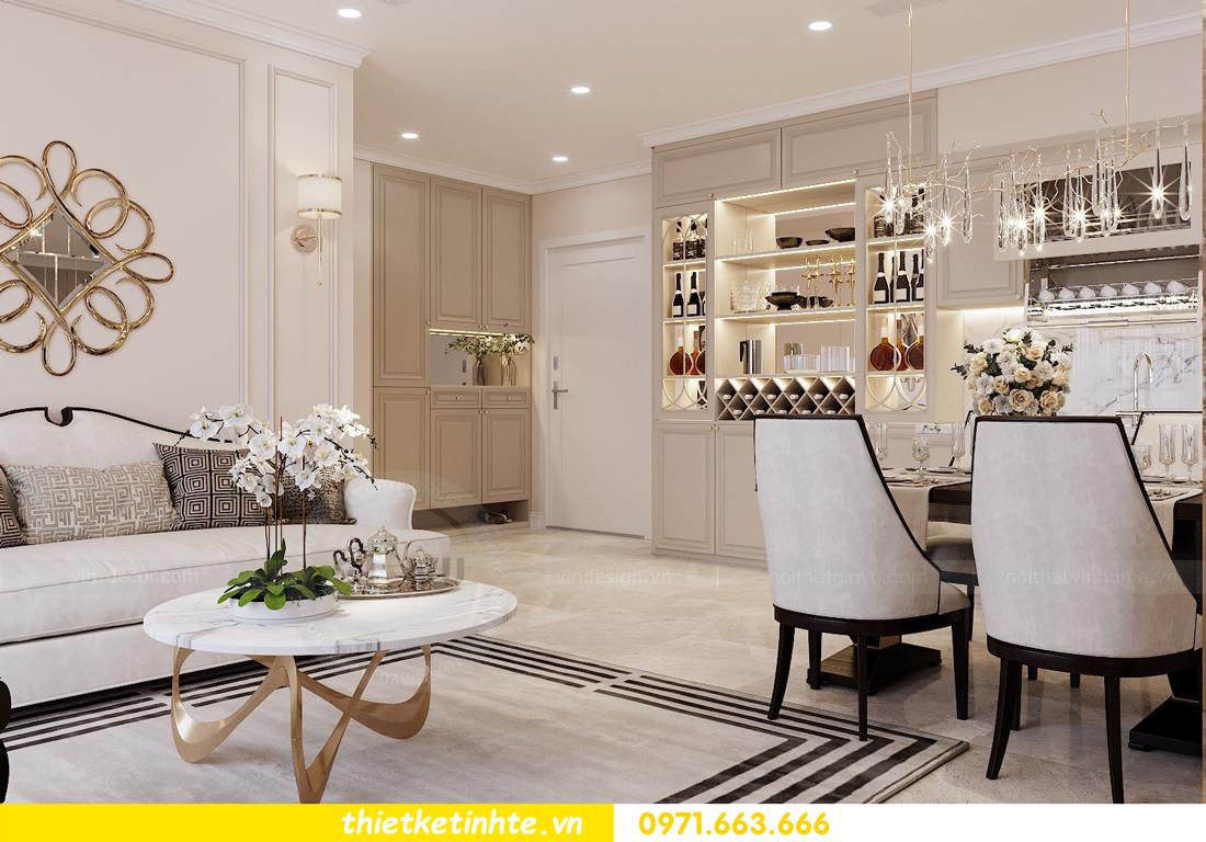 thiết kế nội thất chung cư DCapitale Tân Hoàng Minh C3 căn hộ 11 View1