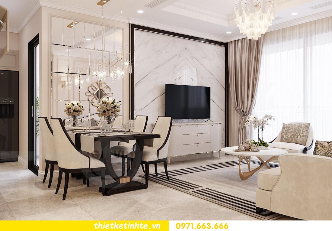 thiết kế nội thất chung cư DCapitale Tân Hoàng Minh C3 căn hộ 11 View2