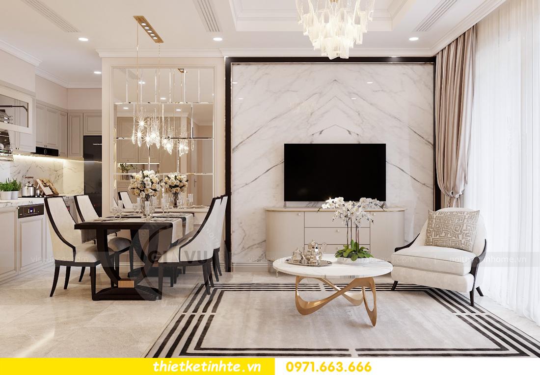 thiết kế nội thất chung cư DCapitale Tân Hoàng Minh C3 căn hộ 11 View3