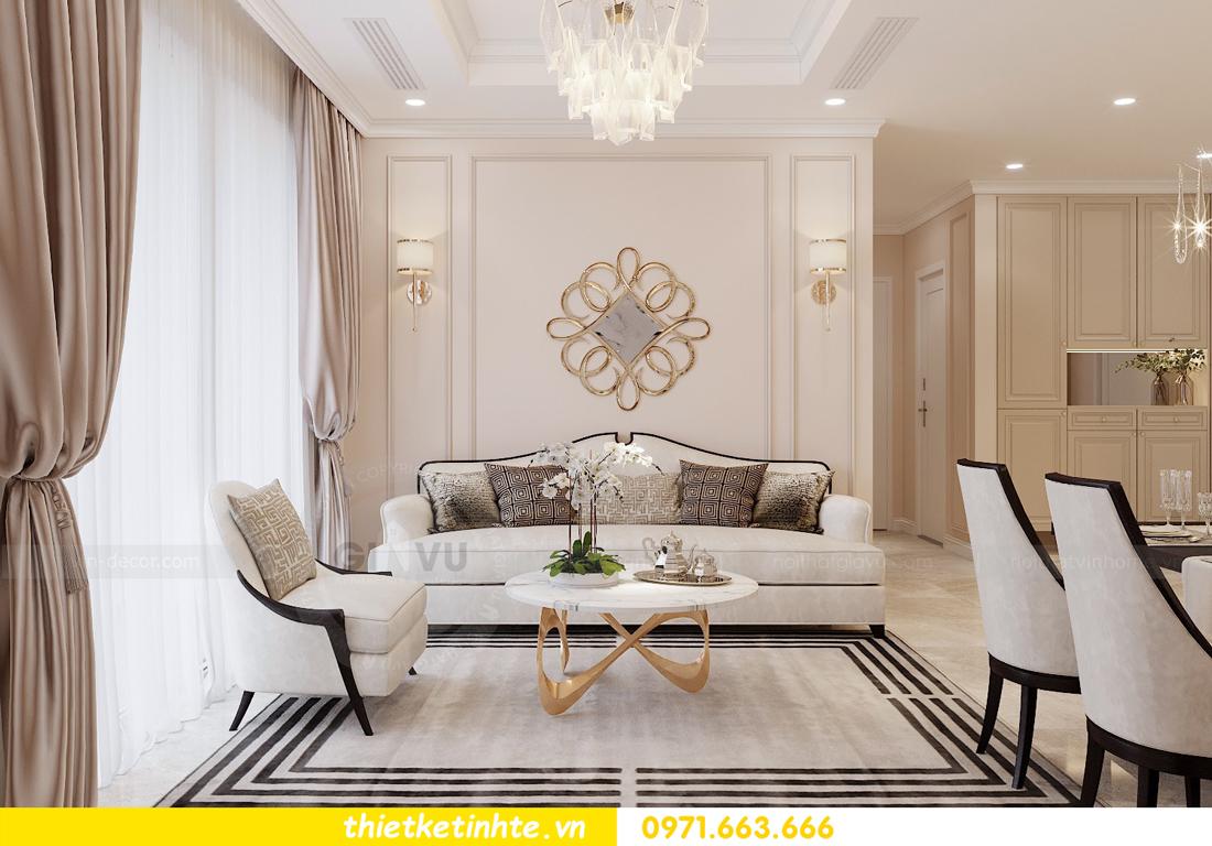 thiết kế nội thất chung cư DCapitale Tân Hoàng Minh C3 căn hộ 11 View4