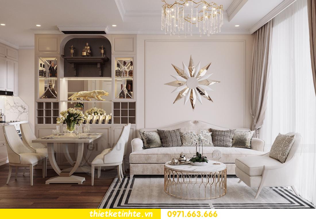 thiết kế nội thất chung cư DCapitale tòa C6 căn 07 A Long 02
