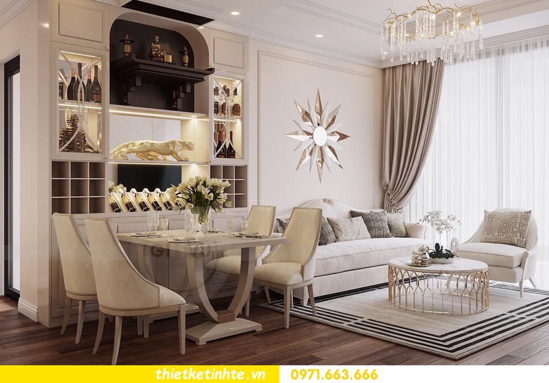 thiết kế nội thất chung cư DCapitale tòa C6 căn 07 A Long 03