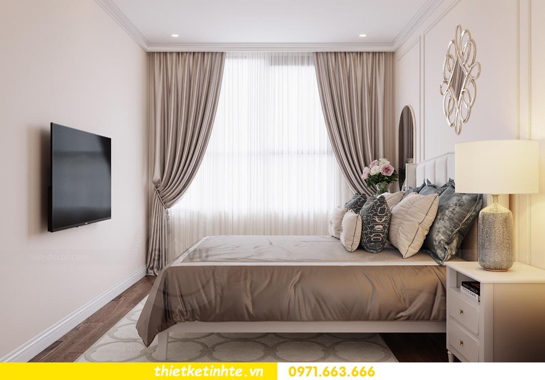 thiết kế nội thất chung cư DCapitale tòa C6 căn 07 A Long 08
