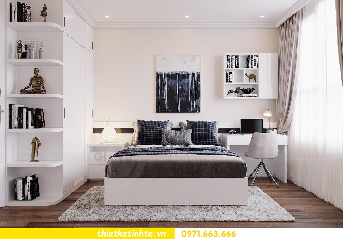 thiết kế nội thất chung cư DCapitale tòa C6 căn 07 A Long 09