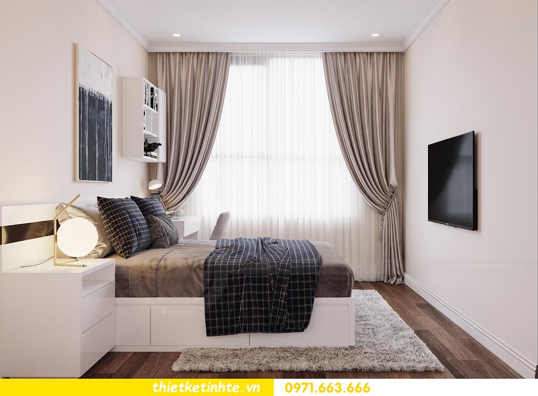 thiết kế nội thất chung cư DCapitale tòa C6 căn 07 A Long 10
