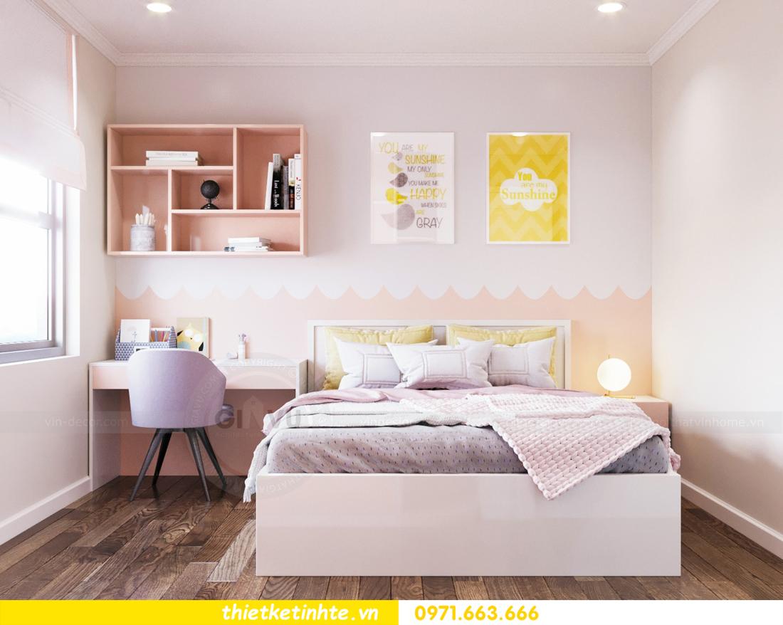thiết kế nội thất chung cư DCapitale tòa C7 căn 08 10