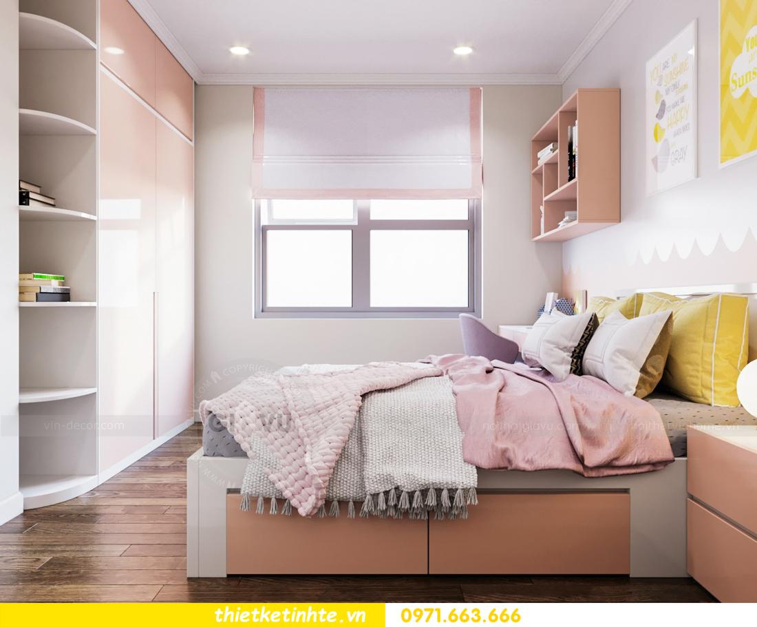 thiết kế nội thất chung cư DCapitale tòa C7 căn 08 11