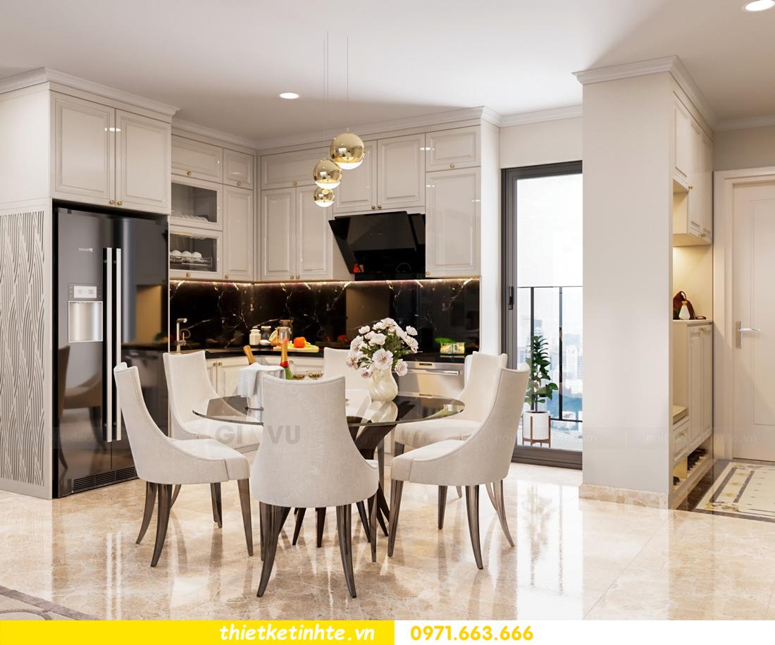 thiết kế nội thất chung cư DCapitale tòa C7 căn 08 2