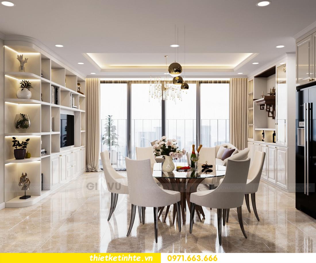 thiết kế nội thất chung cư DCapitale tòa C7 căn 08 3