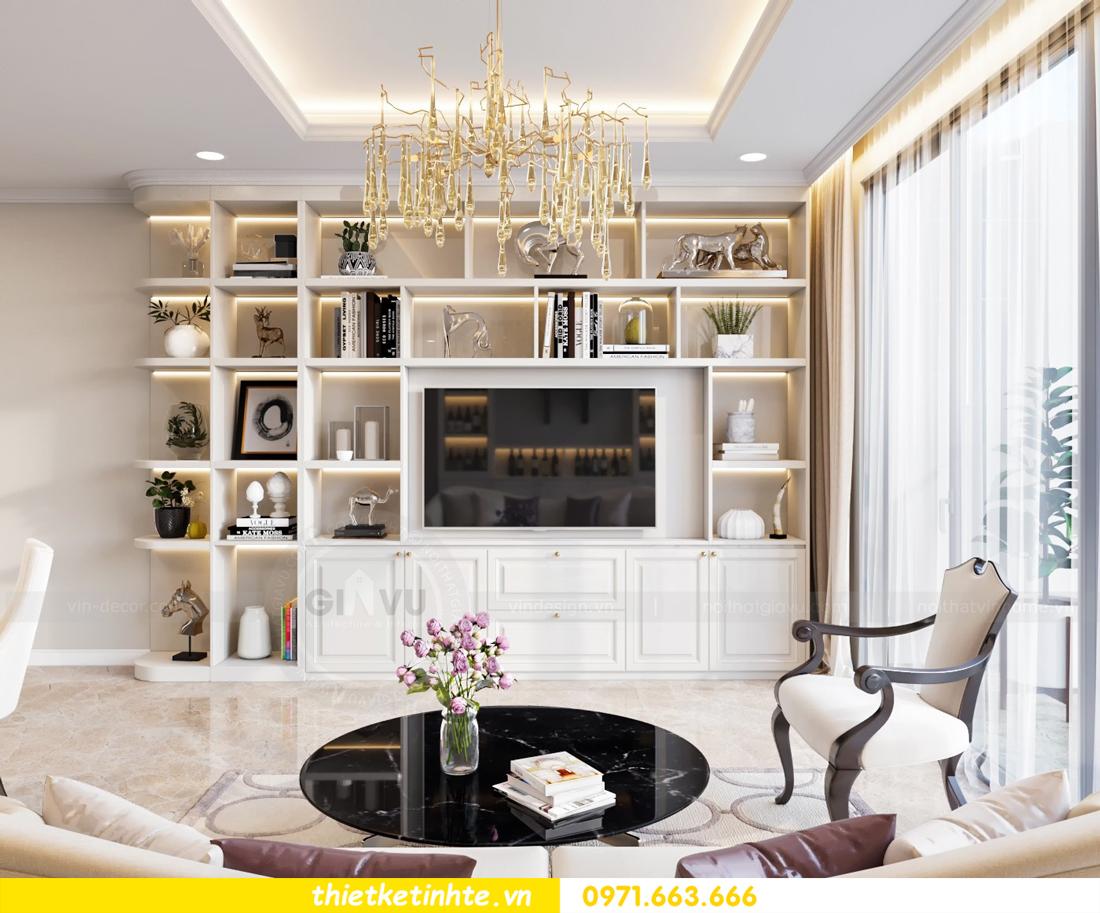 thiết kế nội thất chung cư DCapitale tòa C7 căn 08 5