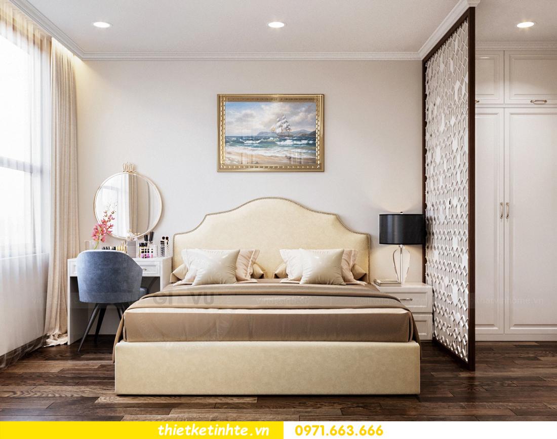 thiết kế nội thất chung cư DCapitale tòa C7 căn 08 6