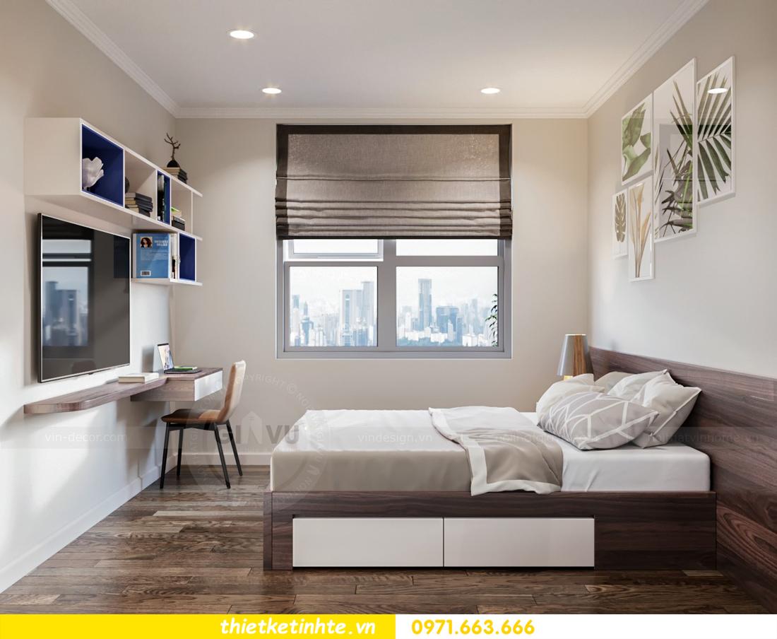 thiết kế nội thất chung cư DCapitale tòa C7 căn 08 9