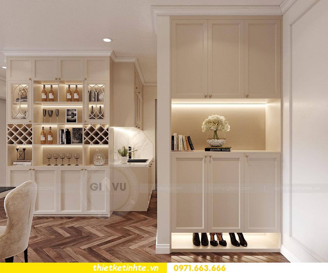 thiết kế nội thất chung cư DCapitale tòa C7 căn 12 chị Hương 01
