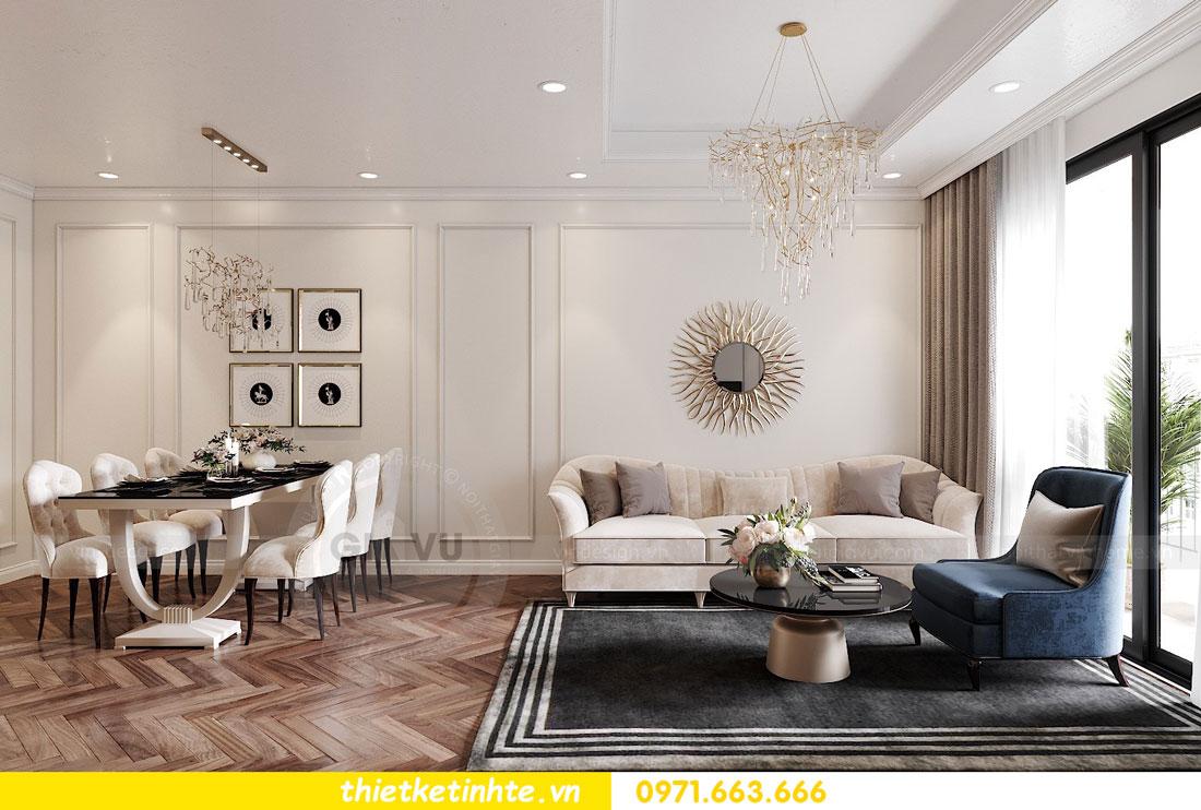 thiết kế nội thất chung cư DCapitale tòa C7 căn 12 chị Hương 03