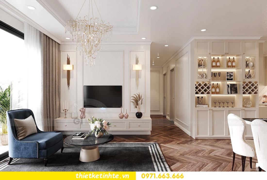 thiết kế nội thất chung cư DCapitale tòa C7 căn 12 chị Hương 04