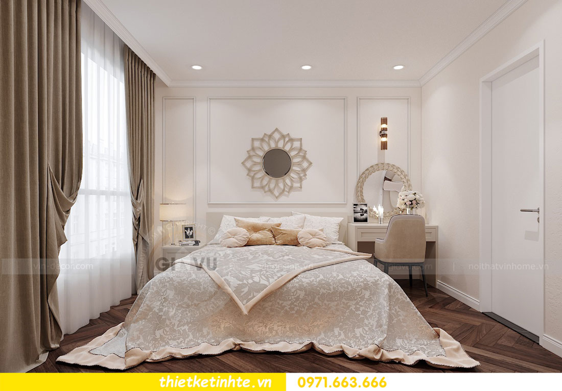 thiết kế nội thất chung cư DCapitale tòa C7 căn 12 chị Hương 07
