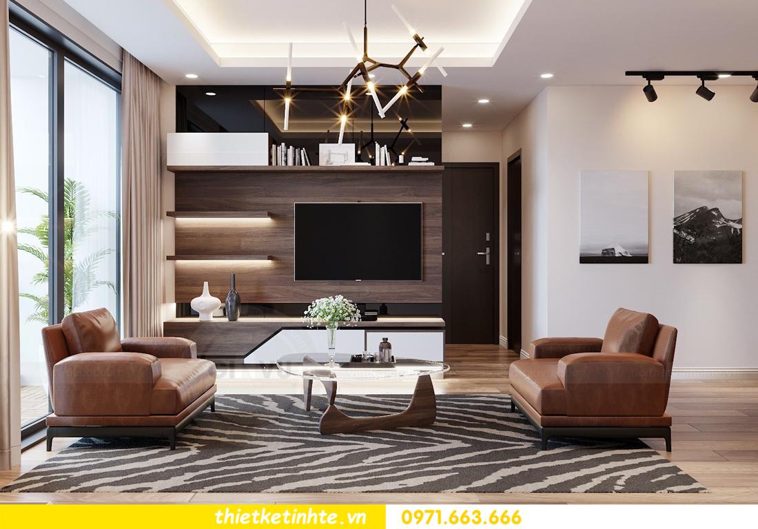 thiết kế nội thất chung cư Ngoại Giao Đoàn N01-T4 2306 04