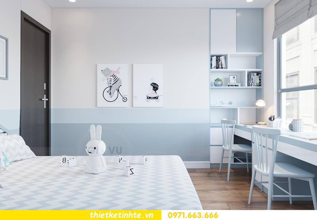 thiết kế nội thất chung cư Ngoại Giao Đoàn N01-T4 2306 10