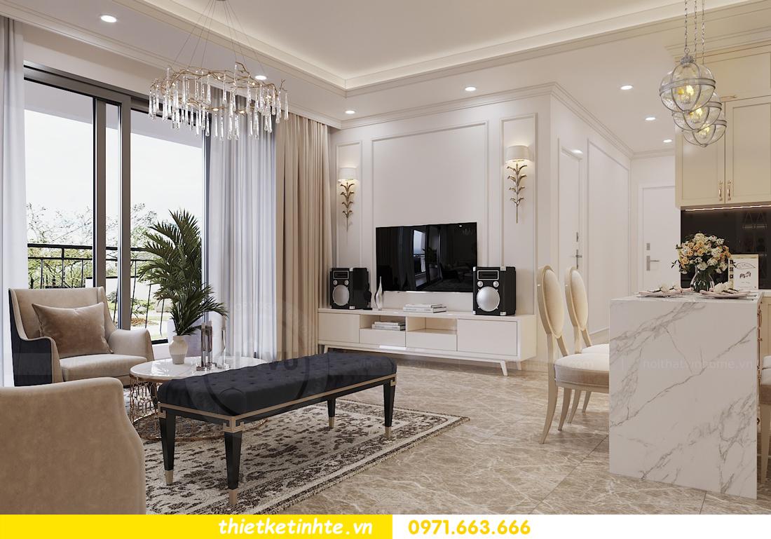 thiết kế nội thất chung cư Vinhomes DCapitale tòa C3 căn 06 nhà A Chung 02