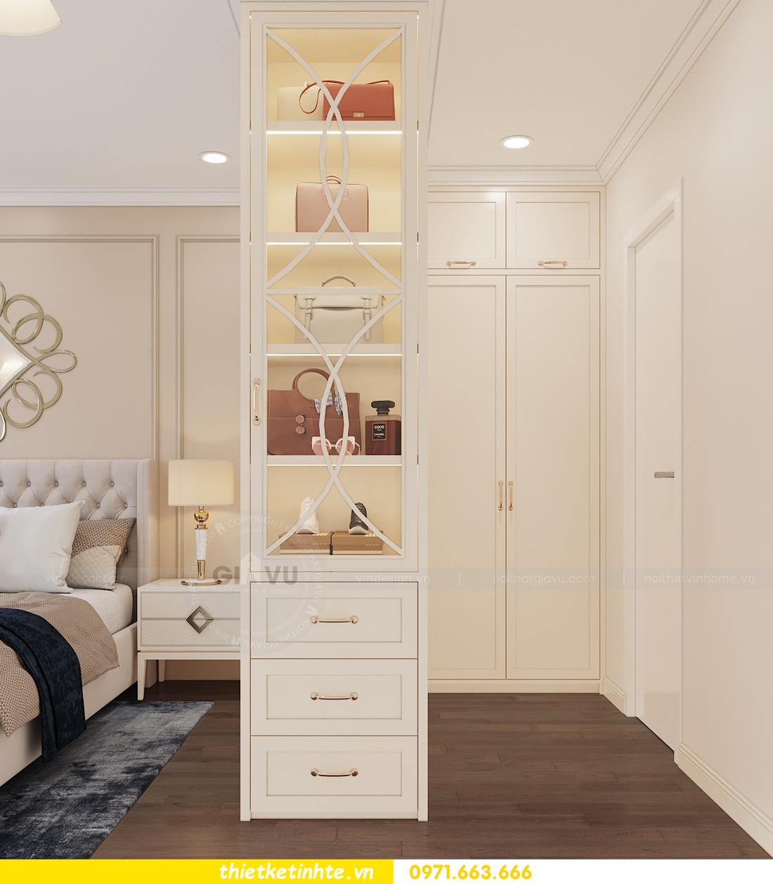 thiết kế nội thất chung cư Vinhomes DCapitale tòa C3 căn 06 nhà A Chung 06