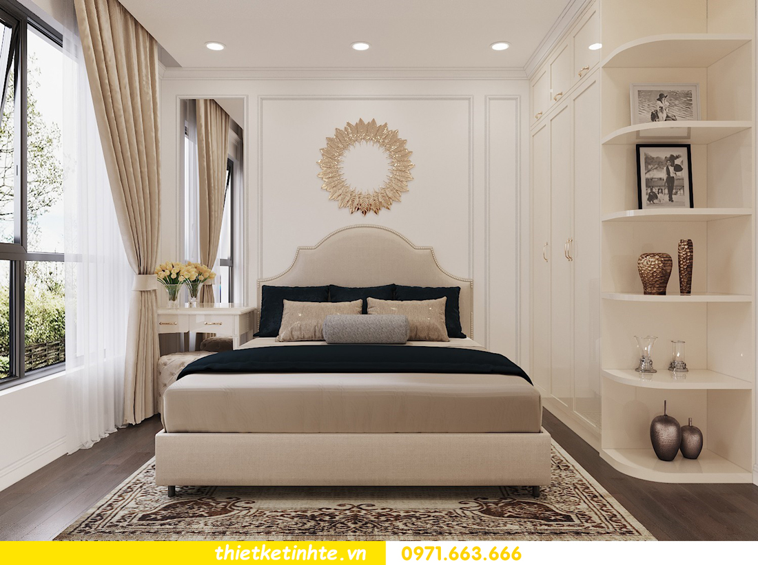 thiết kế nội thất chung cư Vinhomes DCapitale tòa C3 căn 06 nhà A Chung 07