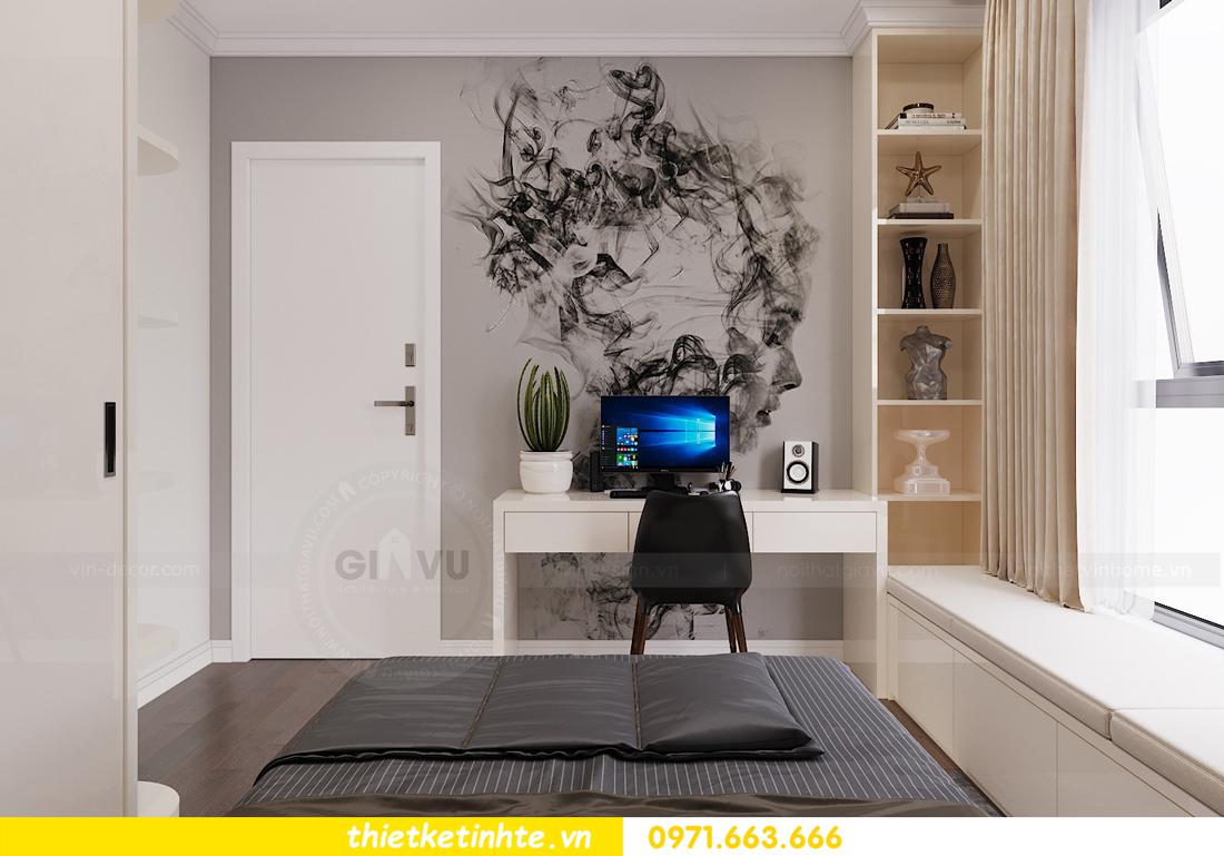 thiết kế nội thất chung cư Vinhomes DCapitale tòa C3 căn 06 nhà A Chung 10