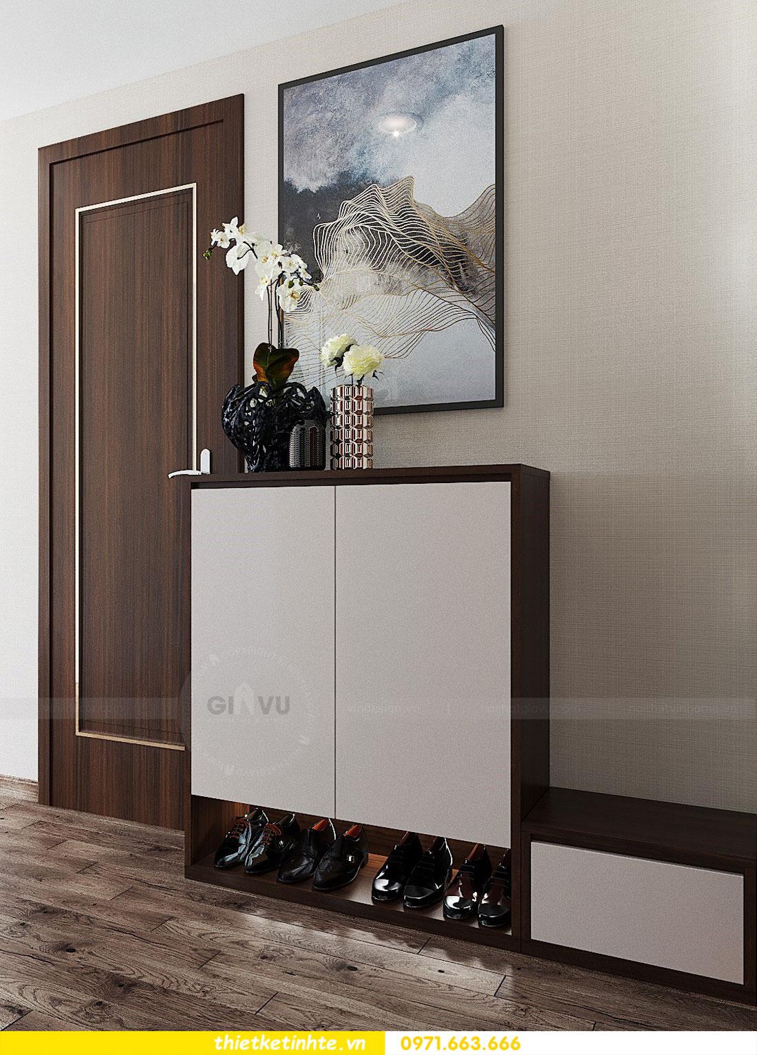 thiết kế nội thất căn hộ 3 phòng ngủ sang trọng, tiện nghi 01