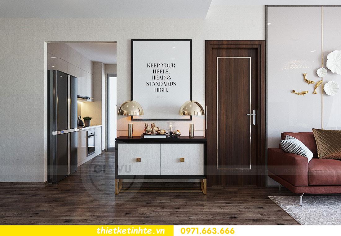thiết kế nội thất căn hộ 3 phòng ngủ sang trọng, tiện nghi 03