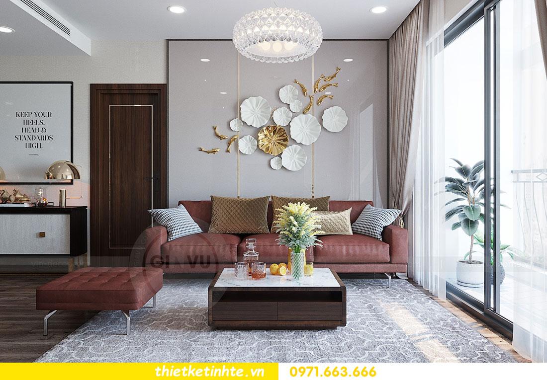 thiết kế nội thất căn hộ 3 phòng ngủ sang trọng, tiện nghi 04