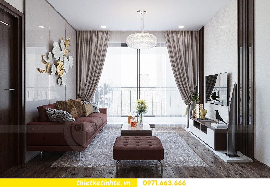 thiết kế nội thất căn hộ 3 phòng ngủ sang trọng, tiện nghi 05
