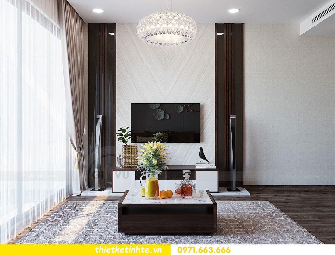 thiết kế nội thất căn hộ 3 phòng ngủ sang trọng, tiện nghi 06