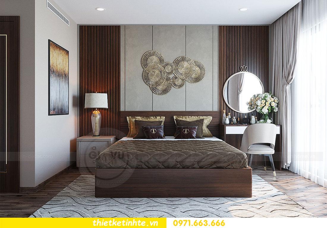 thiết kế nội thất căn hộ 3 phòng ngủ sang trọng, tiện nghi 07