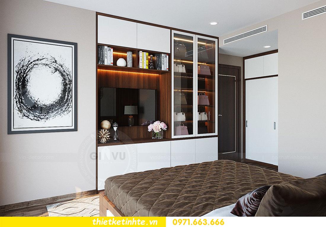 thiết kế nội thất căn hộ 3 phòng ngủ sang trọng, tiện nghi 08