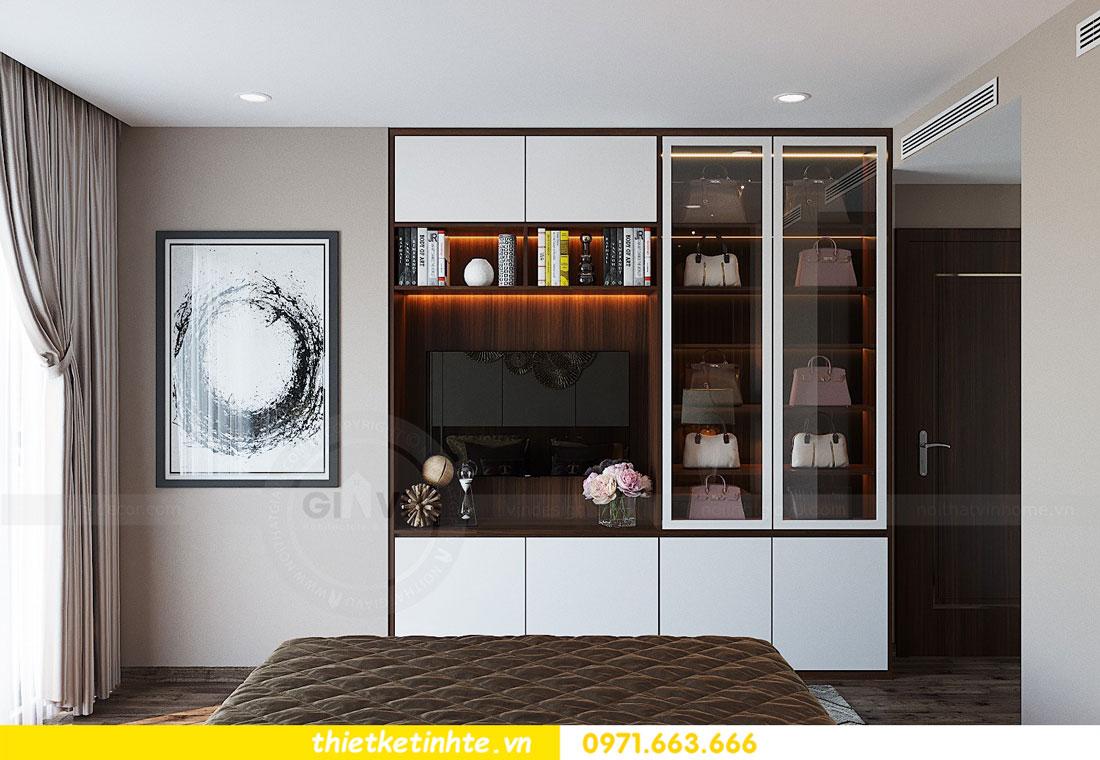 thiết kế nội thất căn hộ 3 phòng ngủ sang trọng, tiện nghi 09