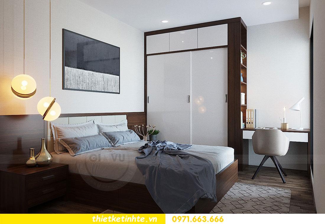 thiết kế nội thất căn hộ 3 phòng ngủ sang trọng, tiện nghi 11