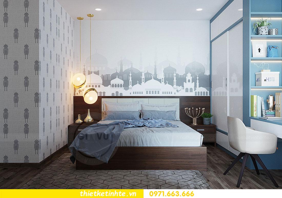 thiết kế nội thất căn hộ 3 phòng ngủ sang trọng, tiện nghi 12