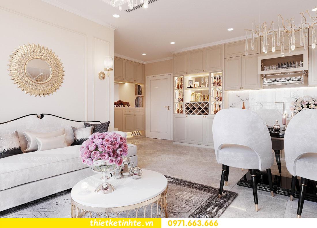 thiết kế nội thất căn hộ 76m2 tại chung cư DCapitale nhà anh Phương 1