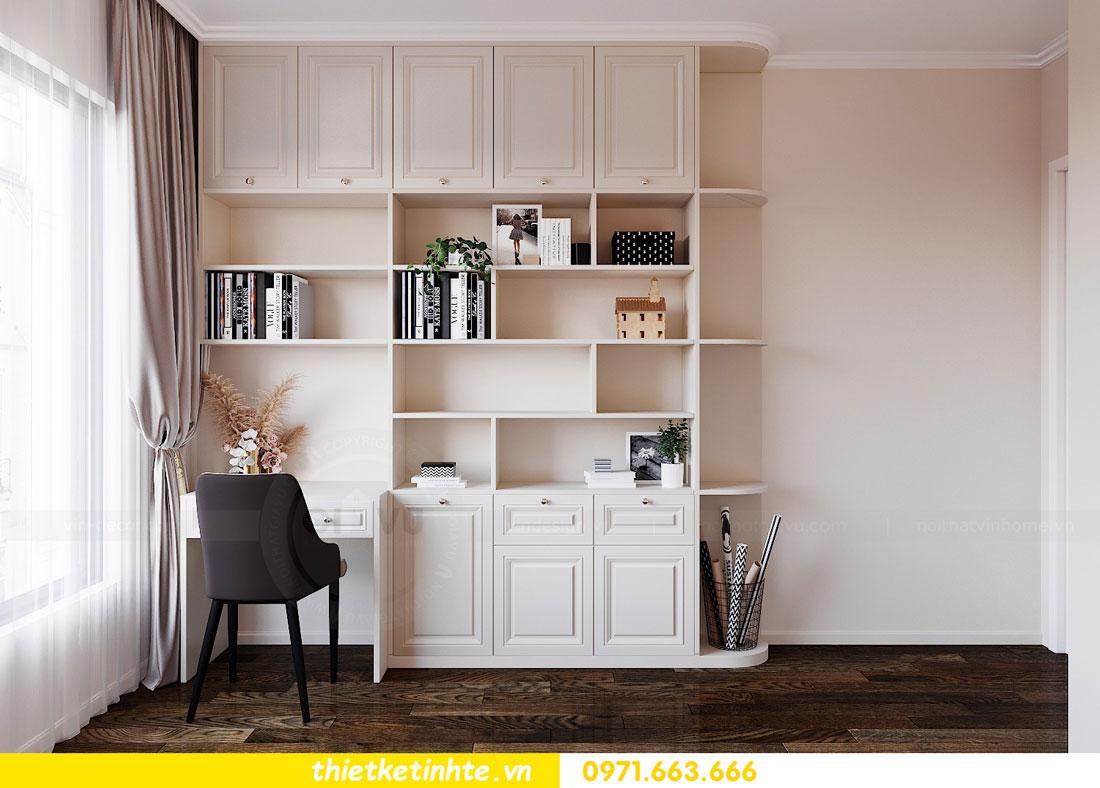 thiết kế nội thất căn hộ 76m2 tại chung cư DCapitale nhà anh Phương 11