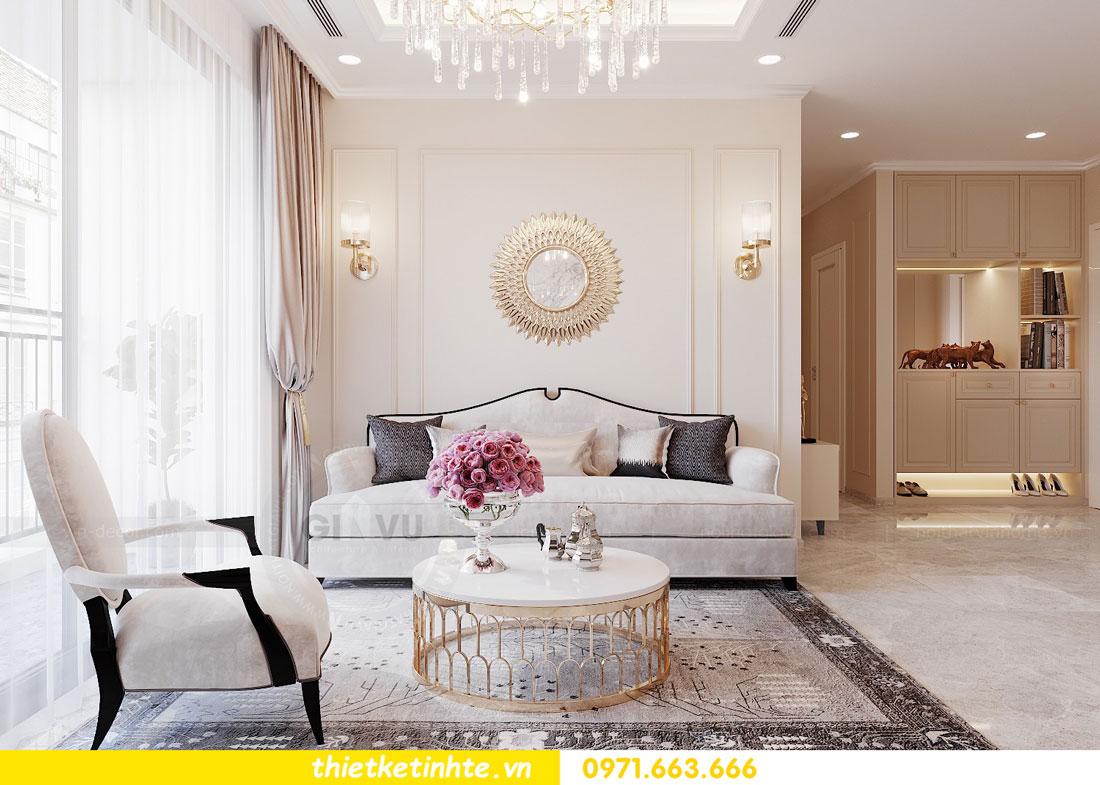 thiết kế nội thất căn hộ 76m2 tại chung cư DCapitale nhà anh Phương 2