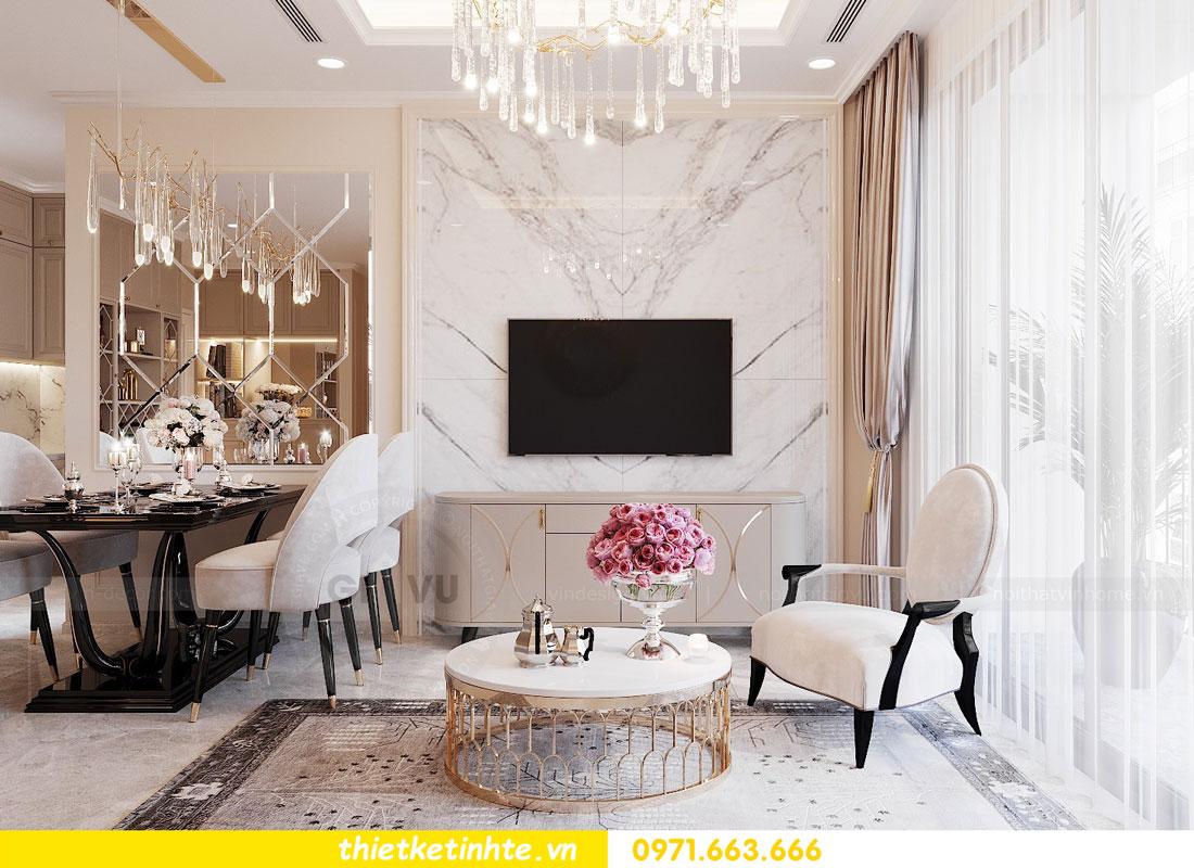 thiết kế nội thất căn hộ 76m2 tại chung cư DCapitale nhà anh Phương 3