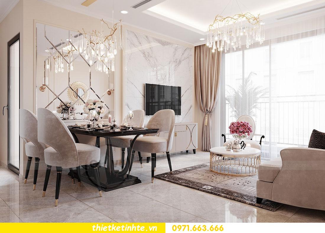 thiết kế nội thất căn hộ 76m2 tại chung cư DCapitale nhà anh Phương 4