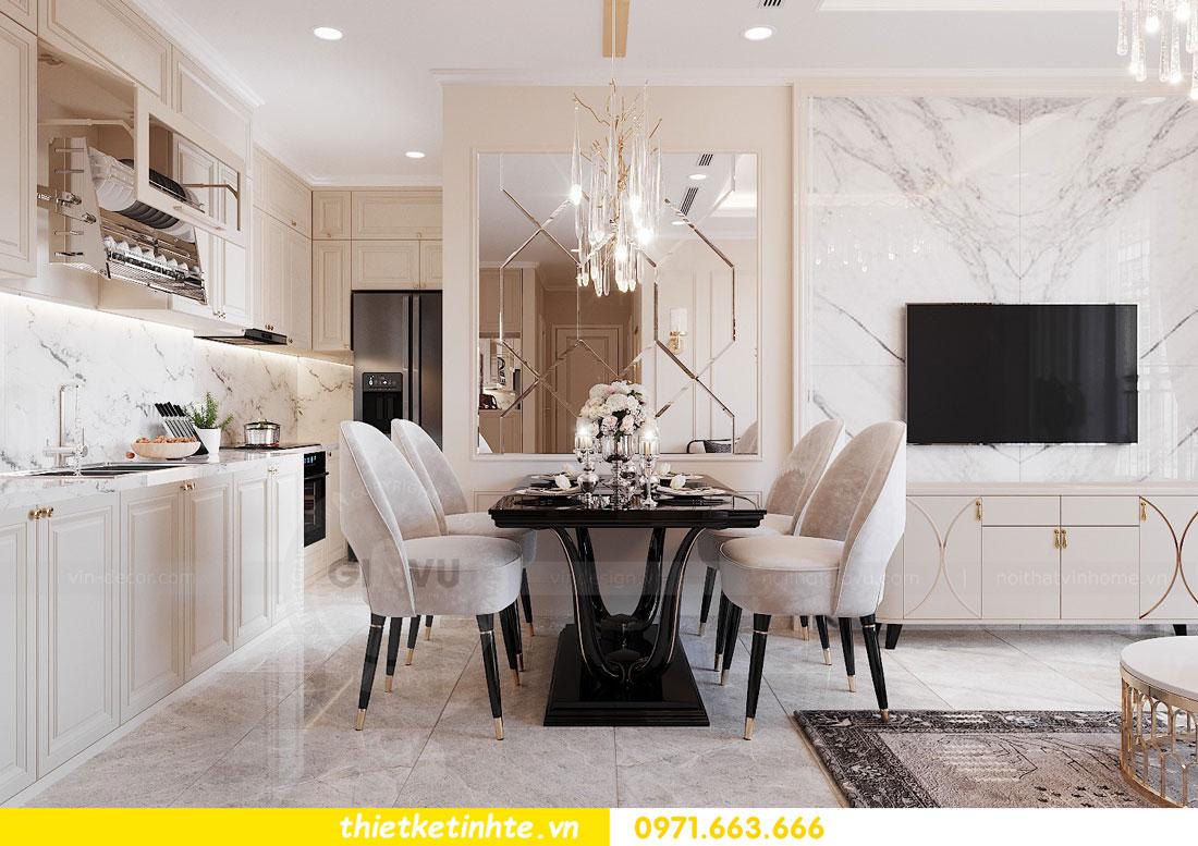 thiết kế nội thất căn hộ 76m2 tại chung cư DCapitale nhà anh Phương 5