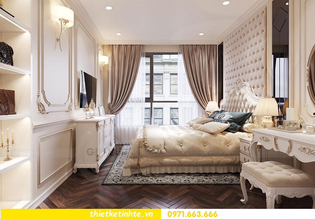 thiết kế nội thất căn hộ tân cổ điển tại Vinhomes Green Bay 8